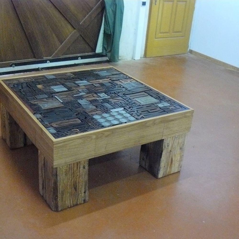 Au phil du bois fiche d taill e annuaire officiel des m tiers d 39 art de - Table basse recuperation ...