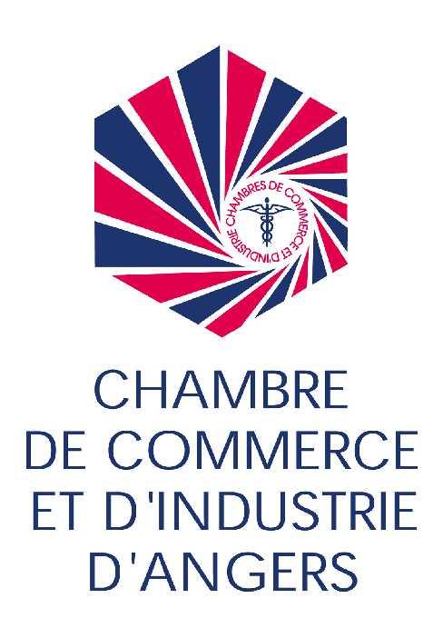 Logo Cci Angers Vert